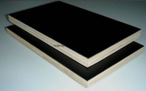 18mm Black Film Faced Plywood/Brown Film Faced Plywood pictures & photos