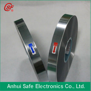 Al/Zn Heavy Edge Single Sided Metallized BOPP Film Safe Film pictures & photos
