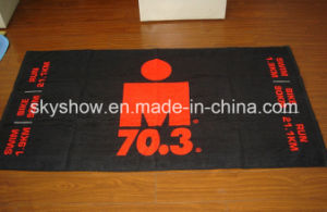 Reactive Printing Velour Towel (SST0347) pictures & photos