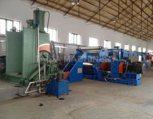 Rubber Compounding Dispersion Kneader Two Roll Mixing Mill Machine Production Line pictures & photos