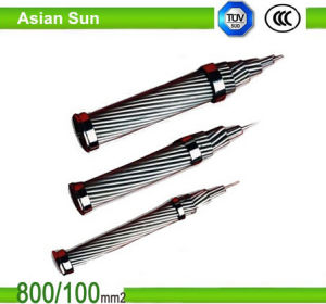 Bare Power Transmission IEC Standard Overhead ACSR Cable pictures & photos