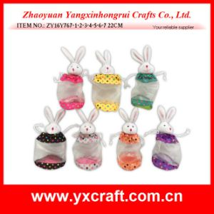 Easter Decoration (ZY16Y767-1-2-3-4-5-6-7) Easter Fine Yarn Bag Decoration pictures & photos