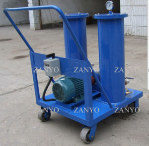 Trolley Type Oil Filtration De-Impurity System Filtering Insulating Oil / Turbine Oil / Lubricating Oil