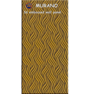 Zhihua 3D Embossed Interior Decorative MDF Wall Panel Il10 pictures & photos