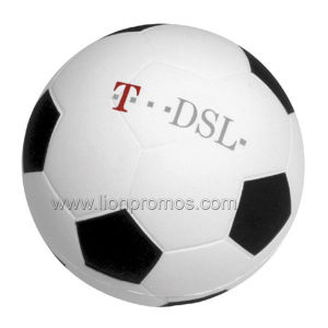 Printed Gift PU Foam Football pictures & photos