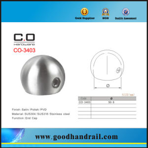 End Cap (CO-3403) /Pipe Fittings/Handrail pictures & photos