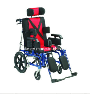 Cheap Cerebral Palsy Aluminum Wheelchair (ALK958LC-46) pictures & photos