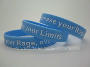 Bracelet Silicone Wristband for Events (SIB046) pictures & photos
