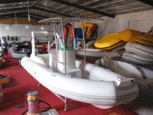 Inflatable Rib Boat, Sport Motor Boat, Fishing Boat Rib580b with CE Cert. pictures & photos