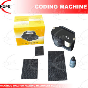 Manual Printer/Carton Printer for Date Printing From China pictures & photos