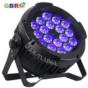 China gbr tl1861 18x15w rgbwauv 6in1 led outdoor led par can light gbr tl1861 18x15w rgbwauv 6in1 led outdoor led par can light aloadofball Images