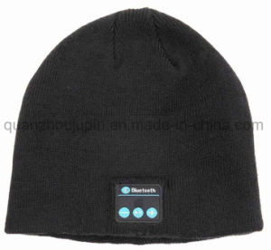 OEM Winter Music Wireless Bluetooth Earphone Knitted Beanie Hat