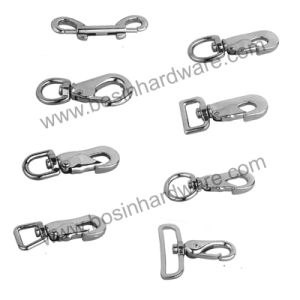 Metal Snap Hook with Eyelet for Wire Cable pictures & photos