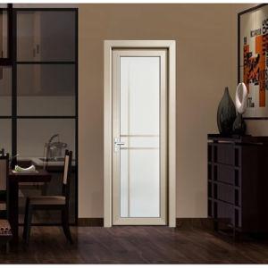 China Golden Aluminum Double Tempered Glass Interior Doors Kitchen Doors China Aluminium Door Glass Door