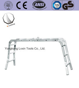 High Quality Multi-Purpose Splayfoot Hinge Ladder pictures & photos