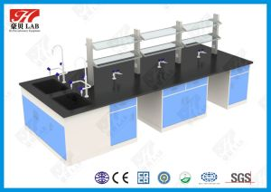 Lab Furniture-Metal Lab Bench Designed for Food Company Lab