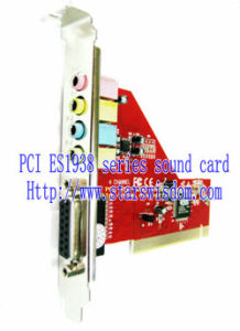 DRIVERS FOR 4-CHANNEL ES1938S PCI SOUND CARD