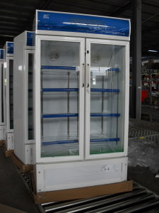 Double Open Door Upright Showcase (LSC-488) pictures & photos