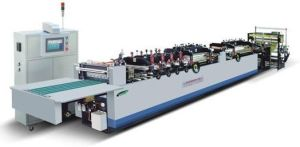 High-Speed Middle Sealing Pouch Bag Making Machine (CX-ZU)