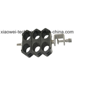 Double Card Feeder Clamp for 1/2 7/8 Coaxial Cable