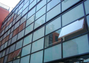 Hollow/Insulated Tempered Curtain Wall Glass (JINBO.)