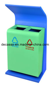 Garden Area Environmentally Sortable Dust Bin (DL24) pictures & photos