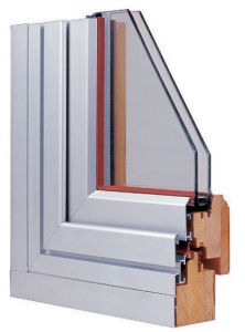 Wood With Aluminum Cladding Windows (56 SERIES)