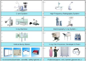 X-ray Unit & Accessories as C Arm, Dr, High Frequency X-ray System pictures & photos