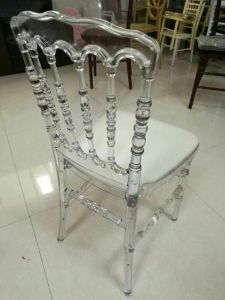 Wholesale PC Material Resin Napoleon Chair for Wedding/Party/Event pictures & photos