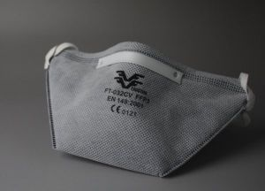 Non-Woven Dust Masks with Active Carbon