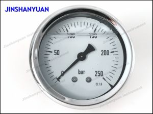 Og-015 Wika Type Pressure Gauge/Brass Thread Pressure Gauge/Oil Manometer pictures & photos