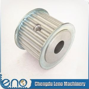 Customized Types Htd5m Pulley with Screw for Electric Motor