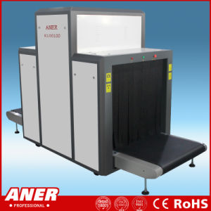 Aner High Sensitivity Station Baggage Scanner X Ray Cargo Checking Machine 1000X1000mm Large Tunnel Size with Cheap Price pictures & photos