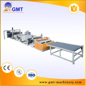 Safe Sustainable Extruder PC Corrugated Sheet Extrusion Line