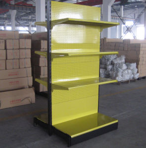 Store Gondola Steel Shelving Shop Display Shelf pictures & photos