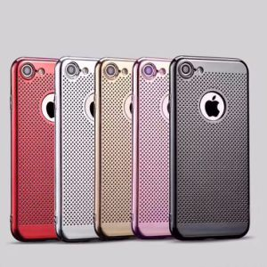 Electroplated Laser TPU Mobile Phone Case Cover for iPhone 7 pictures & photos