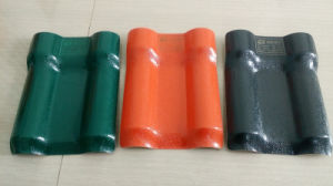 Synthetic Resin Roofing Sheet /ASA Spanish Roofing Tile /ASA PVC Plastic Roof Materials