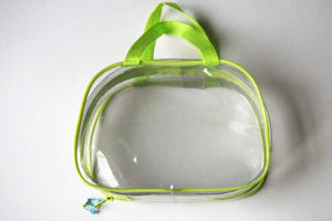 Custom PVC Bag Zipper Bag Transparent Plastic Bone Bag