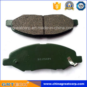 D1250m OEM Quality China Brake Pad for Nissan