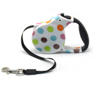 Zebra Print Retractable Dog Leash pictures & photos