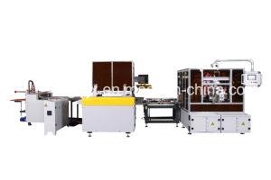 Automatic Packaging, Paper Gift Box, Drawer Box, Gift, Wine, Jewelry, Paper Packing Box Making Machine