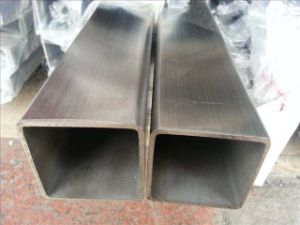 China Manufacturer Stainless Steel Seamless Pipe (Round, Square, Rectangular, Oval)
