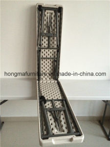 6FT Hotslae Plastic Folding Bench for Outdoor Use From China Manufacture
