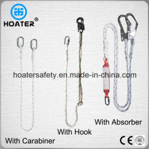 En354 Belt Lanyard in Safety Harness with Hooks From China