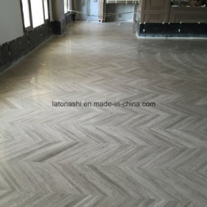 Light Grey Wood Grain Marble Tiles
