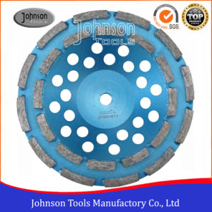 180mm Double Row Cup Wheel for Stone pictures & photos