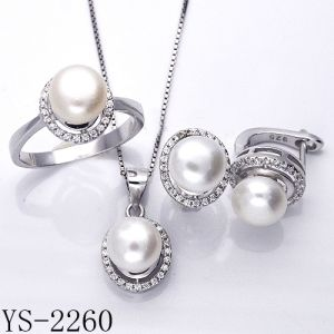 Imitation Jewelry Set Silver 925 Factory Wholesale pictures & photos