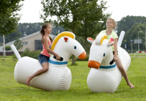 Advertising Inflatable Juming Horse Riding Sports Games pictures & photos