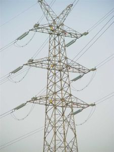 Customed Steel Electric Power Transmission Tower