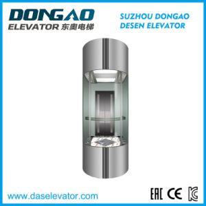Glass Obsevation Elevator-Half Round Series Ds-J230 pictures & photos